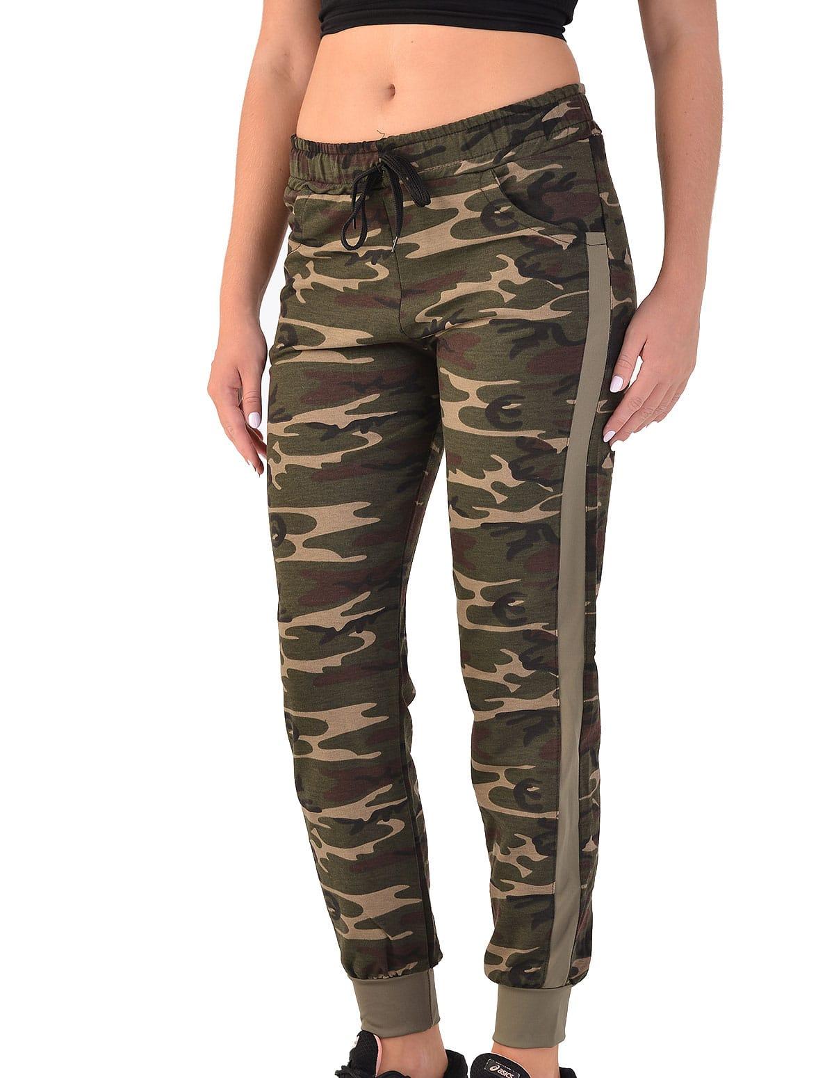 c6154557bb19 Γυναικείο παντελόνι φόρμας με λάστιχο στο πόδι παραλλαγής - vactive.gr