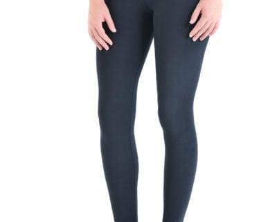 Γυναικείο αθλητικό κολάν dry fit σε χρώμα μαύρο (off-black)