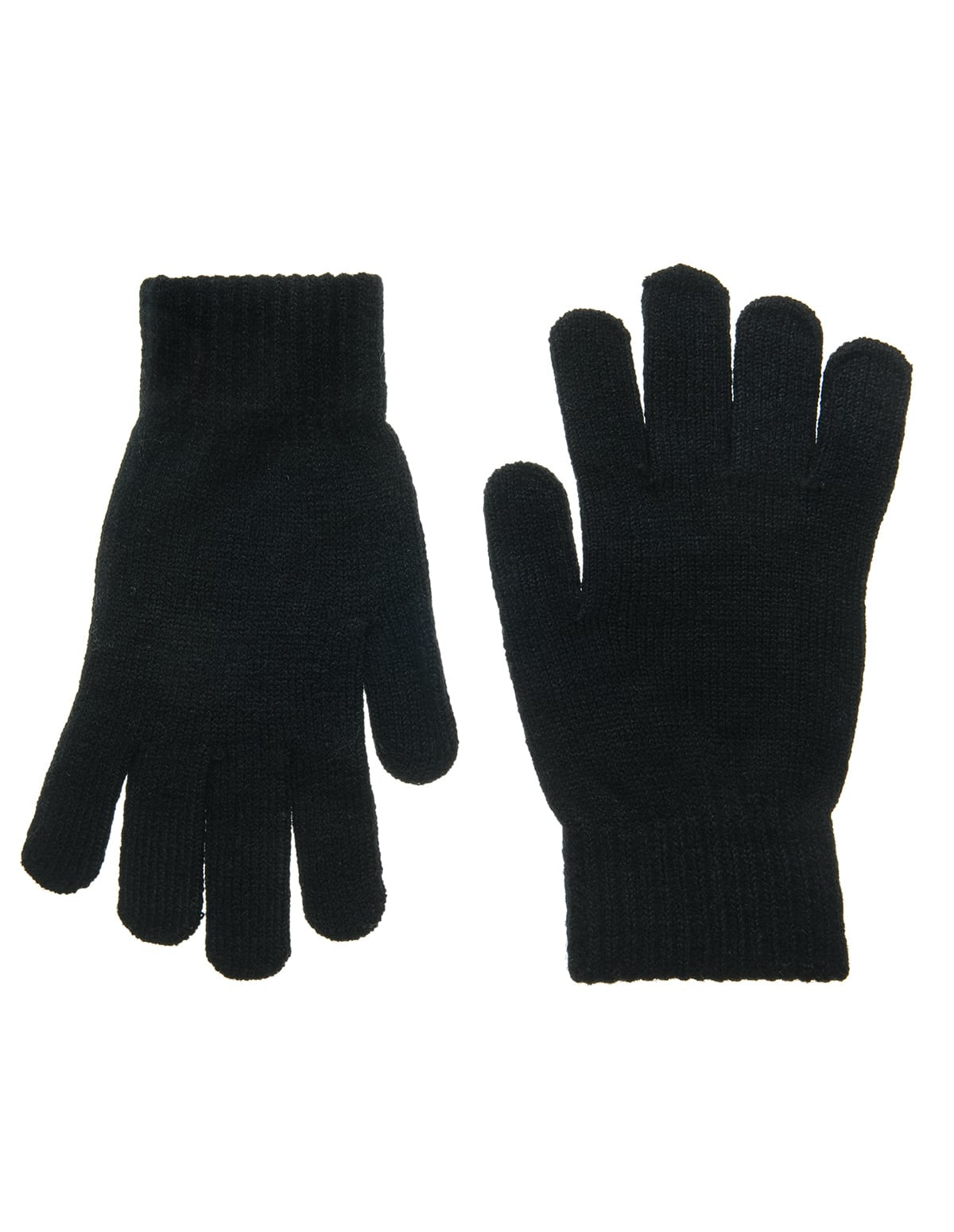 755efa772d Home Αξεσουάρ Γυναικεία αξεσουάρ Γάντια μάλλινα σε μαύρο χρώμα