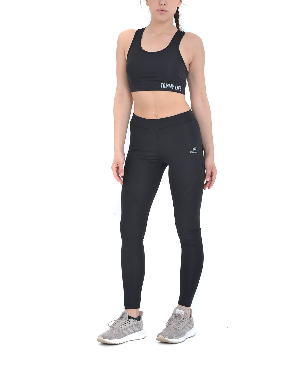 71c19f745810 Αθλητικό σετ μπουστάκι και κολάν σε μαύρο χρώμα - vactive.gr