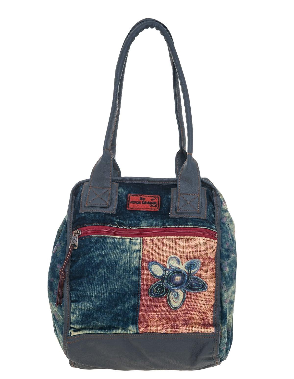 7c660237c6 Υφασμάτινη χειροποίητη τσάντα ώμου - vactive.gr