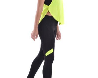 Γυναικείο αθλητικό σετ 3 τεμ. κολάν/μπουστάκι/μπλουζάκι