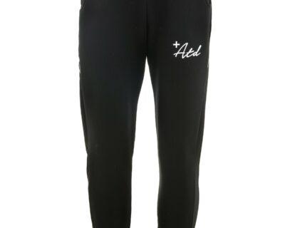 Παντελόνι φόρμας φούτερ σε μαύρο χρώμα