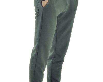 Παντελόνι φόρμας jogger σε χακί χρώμα