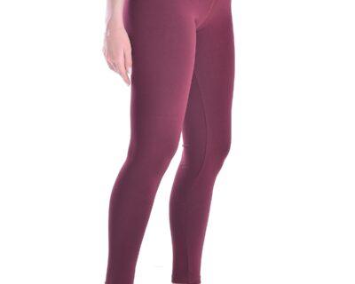 Γυναικείο ψηλόμεσο κολάν σε μπορντώ χρώμα