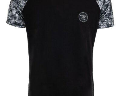 T-shirt με σχέδιο σε μαύρο χρώμα
